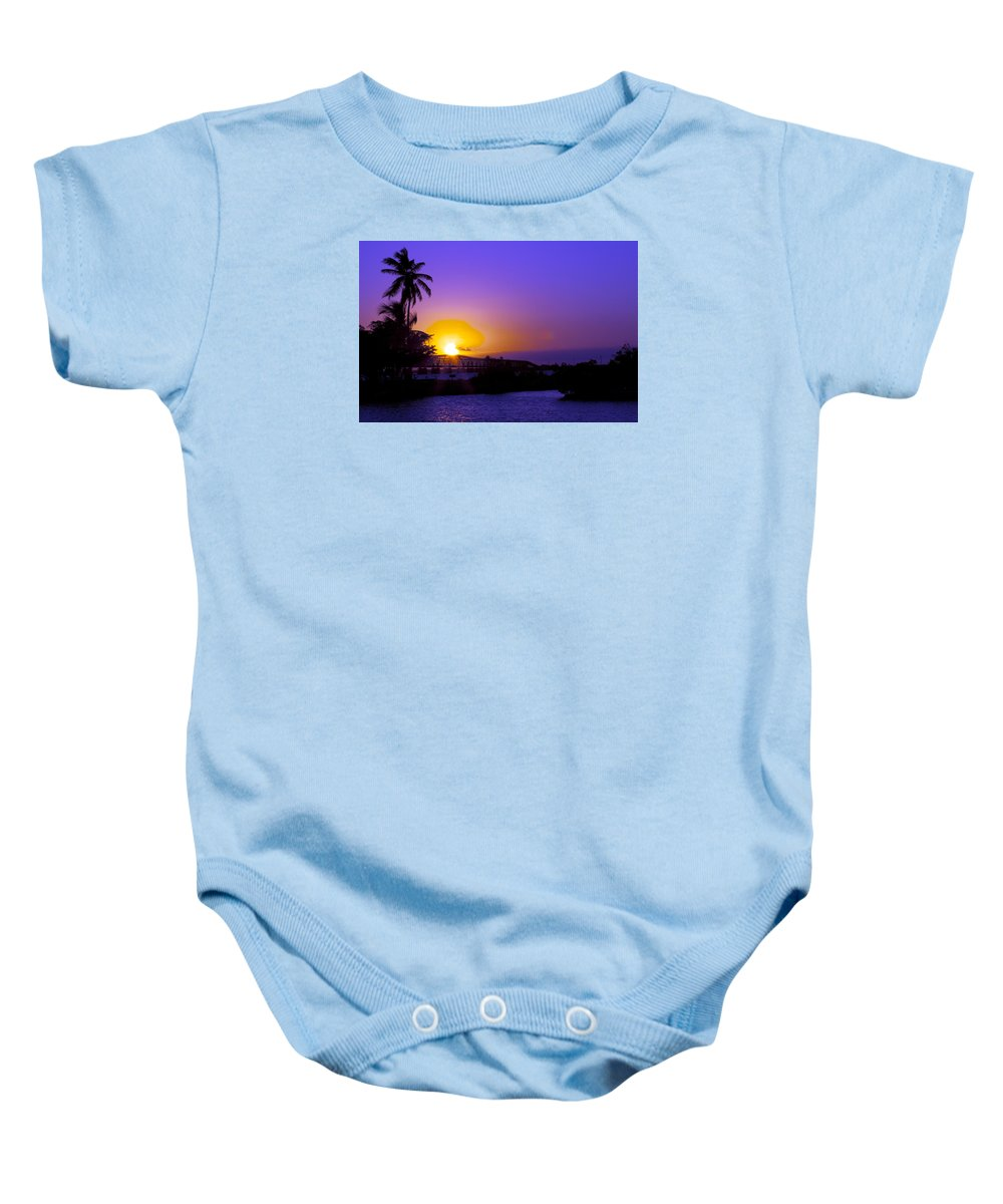Florida Keys Baby Onesie featuring the photograph Endless Bahia Honda by W Scott Morrison