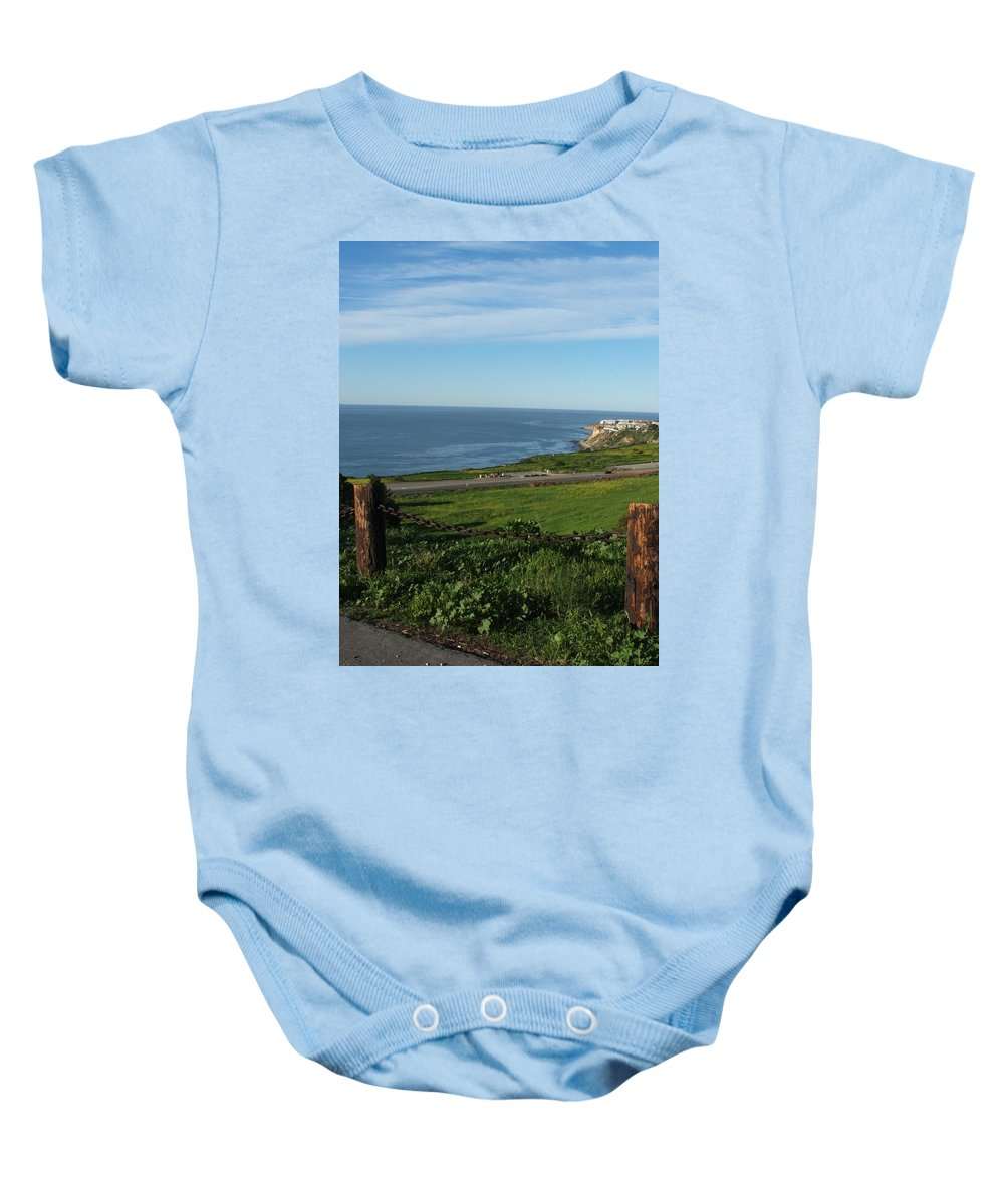 Ocean Baby Onesie featuring the photograph Enjoying The View by Shari Chavira