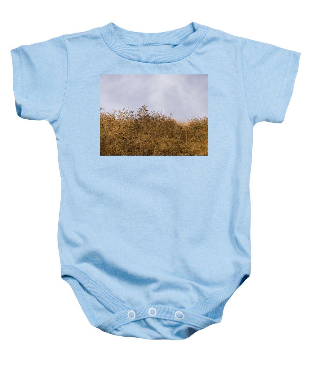 Landscape Baby Onesie featuring the photograph Fairmont Ridge by Karen W Meyer
