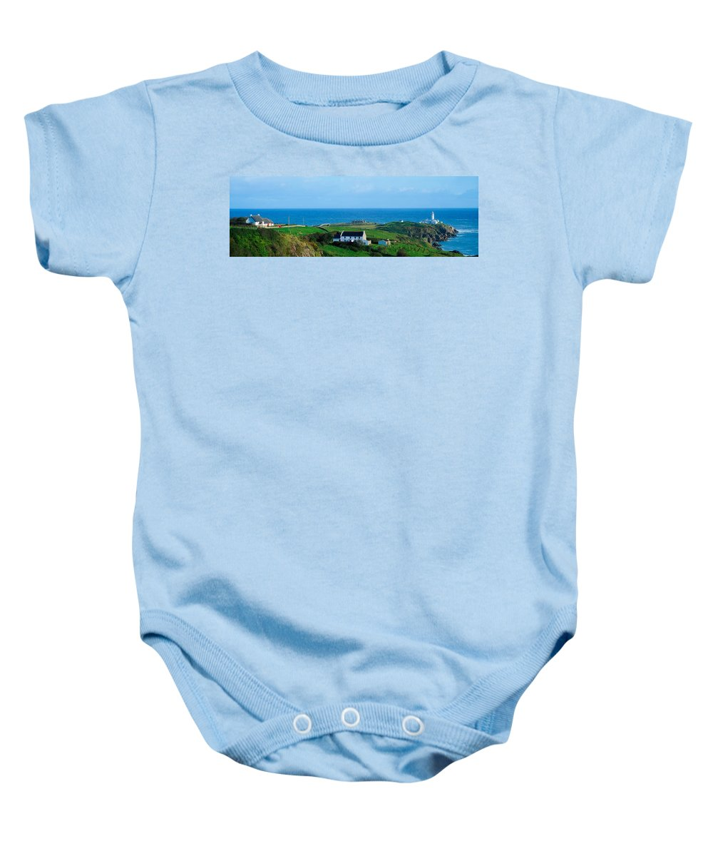 19th Century Baby Onesie featuring the photograph Fanad Lighthouse, Fanad, County Donegal by The Irish Image Collection