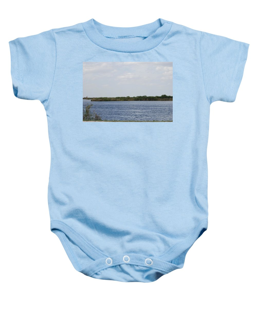 Water Baby Onesie featuring the photograph Fla Everglades by Rob Hans