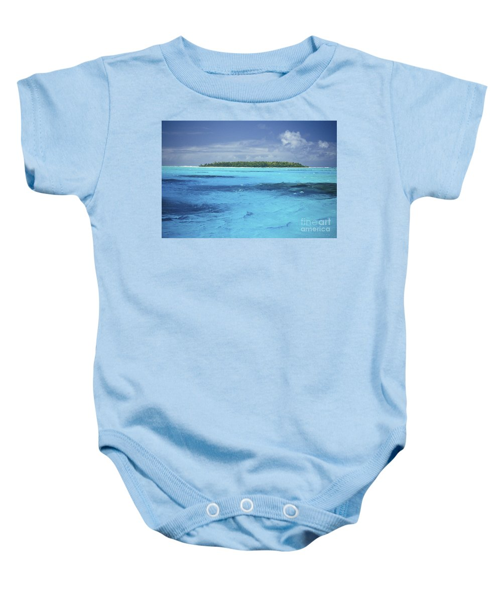 Afternoon Baby Onesie featuring the photograph Floating Island by Kyle Rothenborg - Printscapes