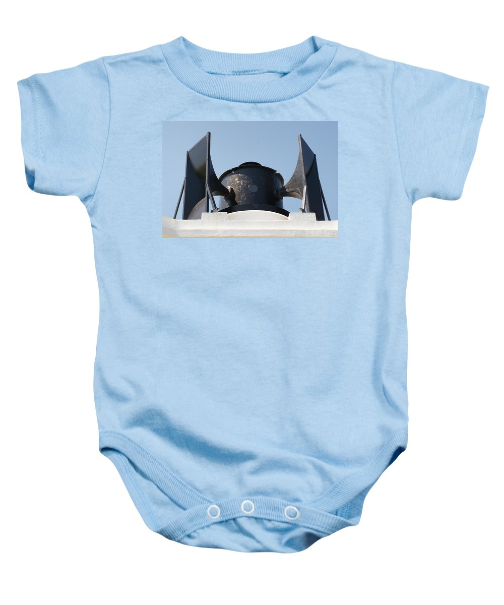 Foghorn Baby Onesie featuring the photograph Foghorn. by Elena Perelman