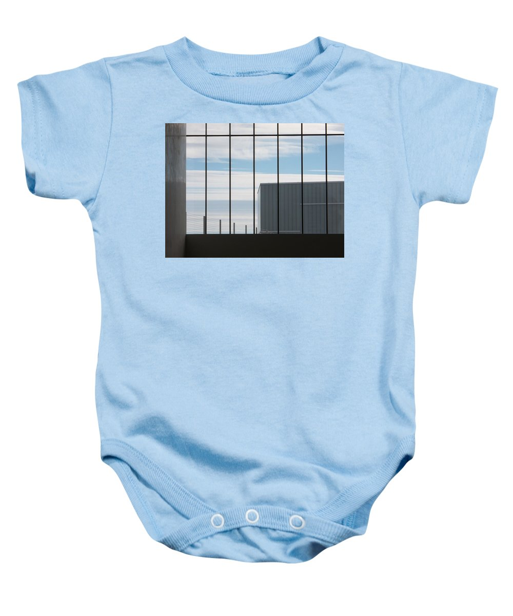 Building Baby Onesie featuring the photograph Force Of Man by Katherine Parker
