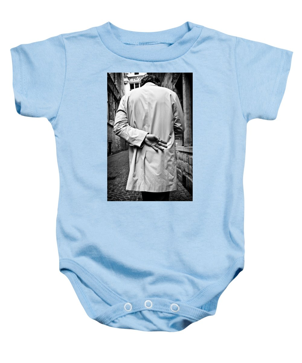 Man Baby Onesie featuring the photograph Four by Dave Bowman