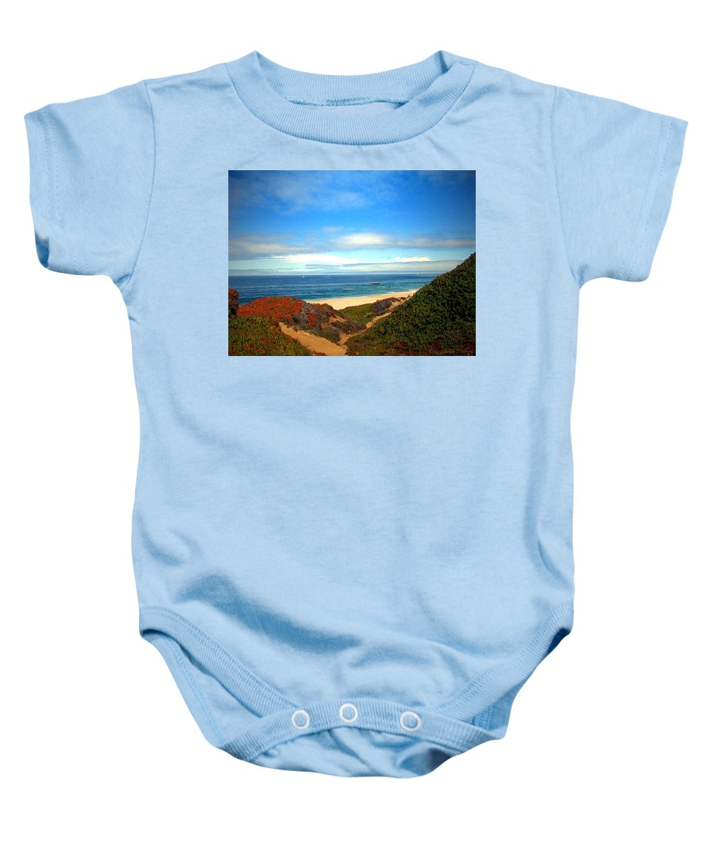 Garapata-state-park Baby Onesie featuring the photograph Garapata State Park South Of Monterey Ca Seven by Joyce Dickens
