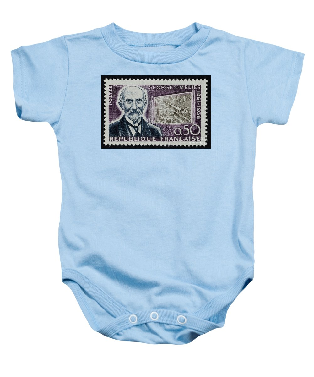 19th Century Baby Onesie featuring the photograph Georges Melies (1861-1938) by Granger