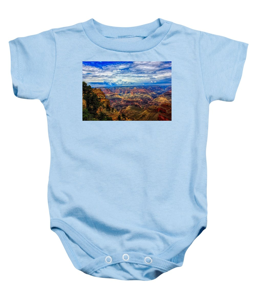 Grand Canyon Baby Onesie featuring the photograph Grand Canyon by Robert Cox