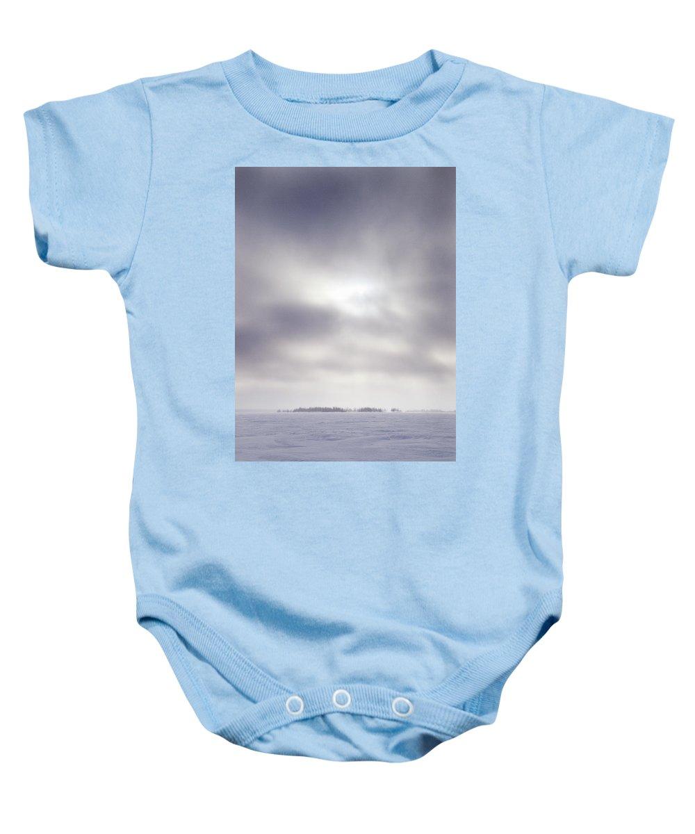 Lehtokukka Baby Onesie featuring the photograph Gulf Of Bothnia Variations Nr 14 by Jouko Lehto