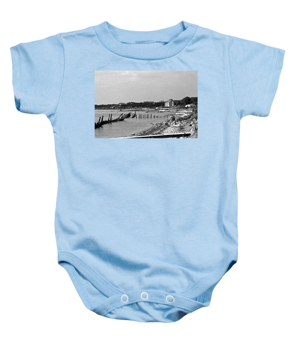 Europe Baby Onesie featuring the photograph Halsingborg Sweden 3 by Lee Santa