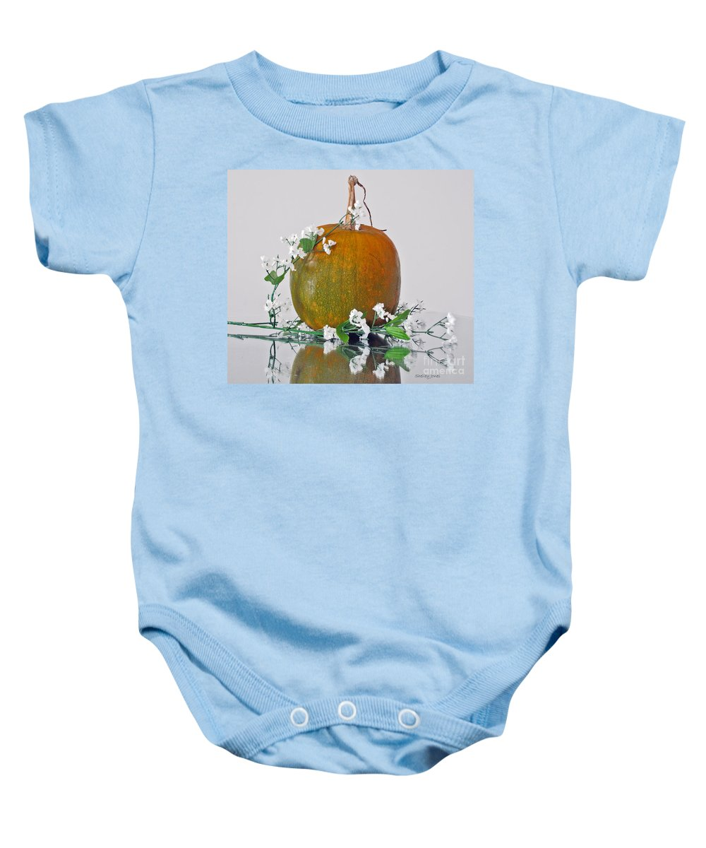 Photography Baby Onesie featuring the photograph Harvest by Shelley Jones