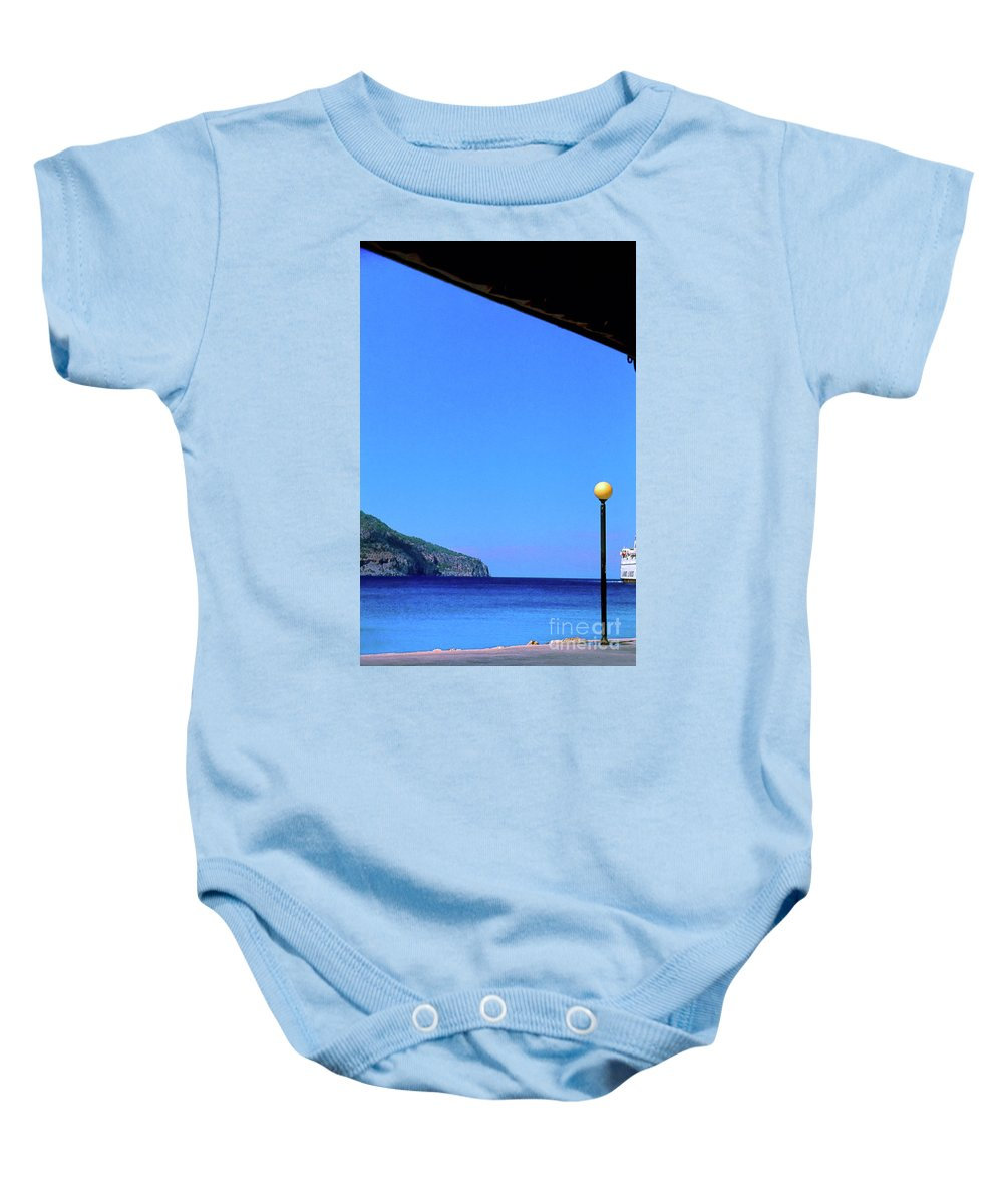 Hellenic Baby Onesie featuring the photograph Hellenic Dream by Silvia Ganora