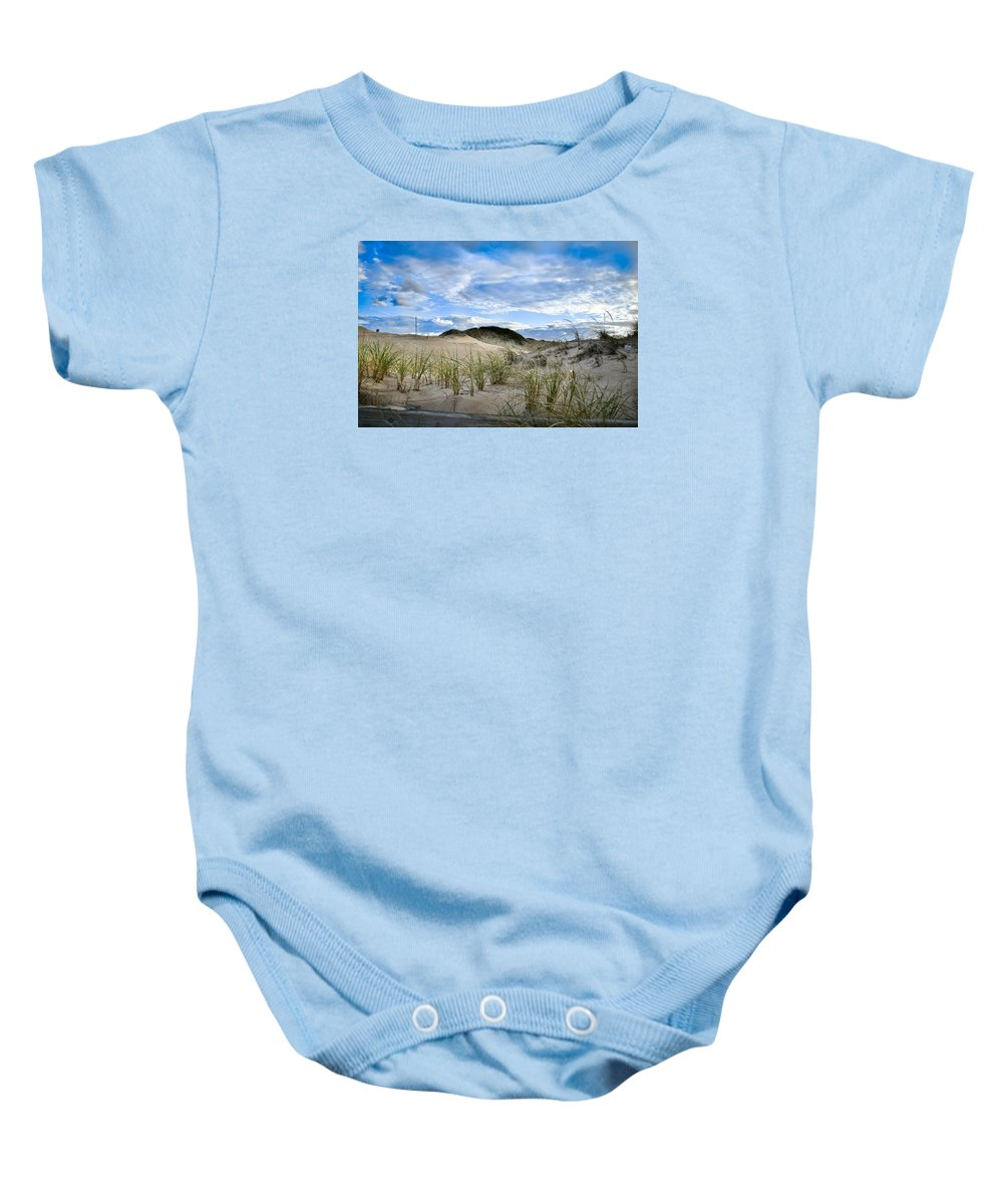 Horseneck Baby Onesie featuring the photograph Horseneck Beach Ma. 3 by Troy DeTerra