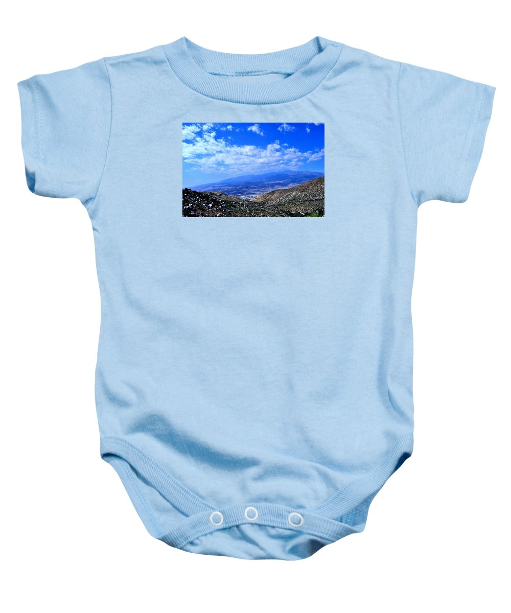 Baby Onesie featuring the photograph Idyllwild, Ca by Sherri Hasley
