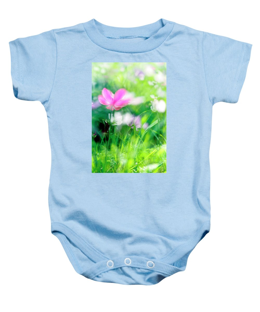 Impressionistic Baby Onesie featuring the photograph Impressionistic Photography At Meggido 3 by Dubi Roman