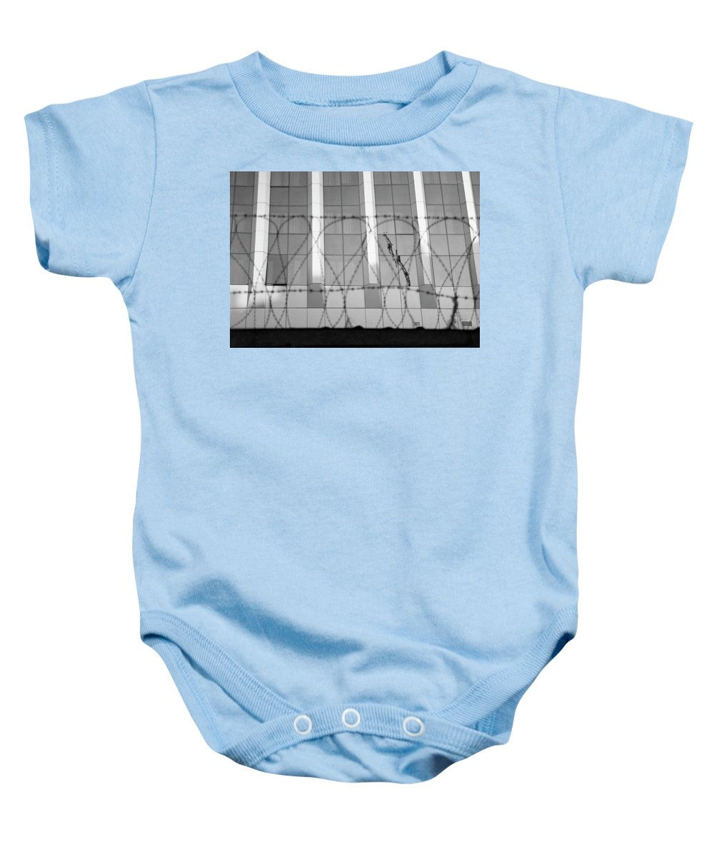 Film Photography Baby Onesie featuring the photograph In Safety by Anna Petropavlovskaya