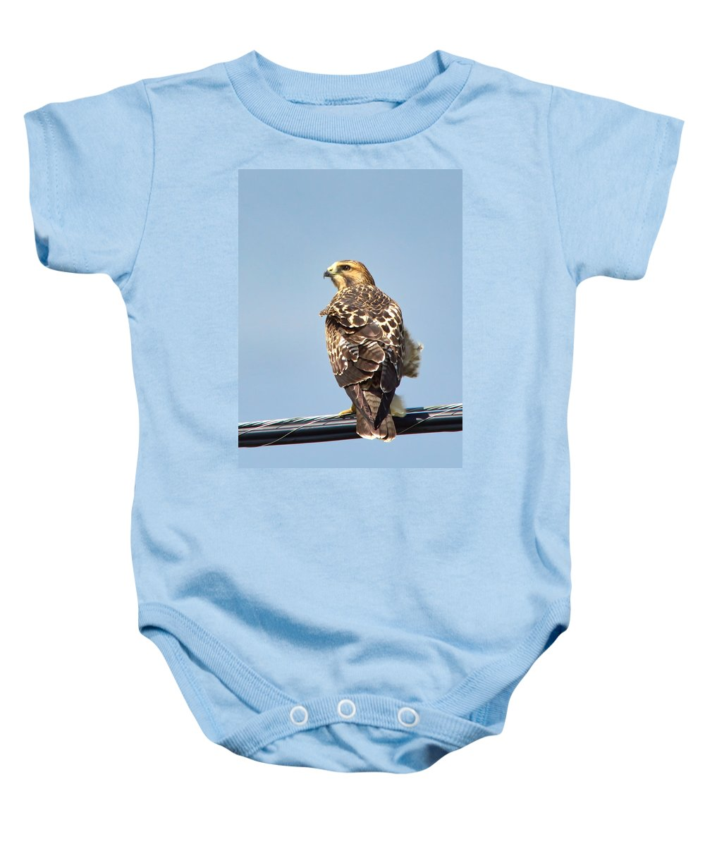 Nature Baby Onesie featuring the photograph In The Breeze by Crystal Massop