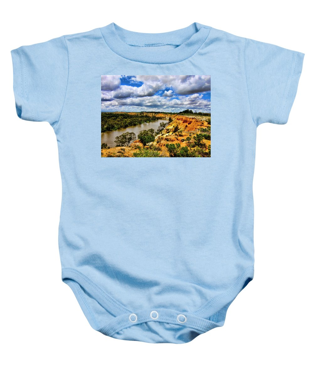 Spectacular Baby Onesie featuring the photograph In The Distance by Douglas Barnard