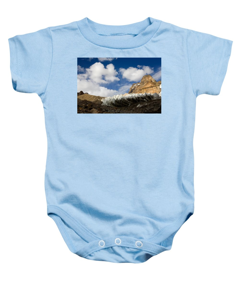 Beautiful Baby Onesie featuring the photograph In The Sky And On The Earth by Konstantin Dikovsky