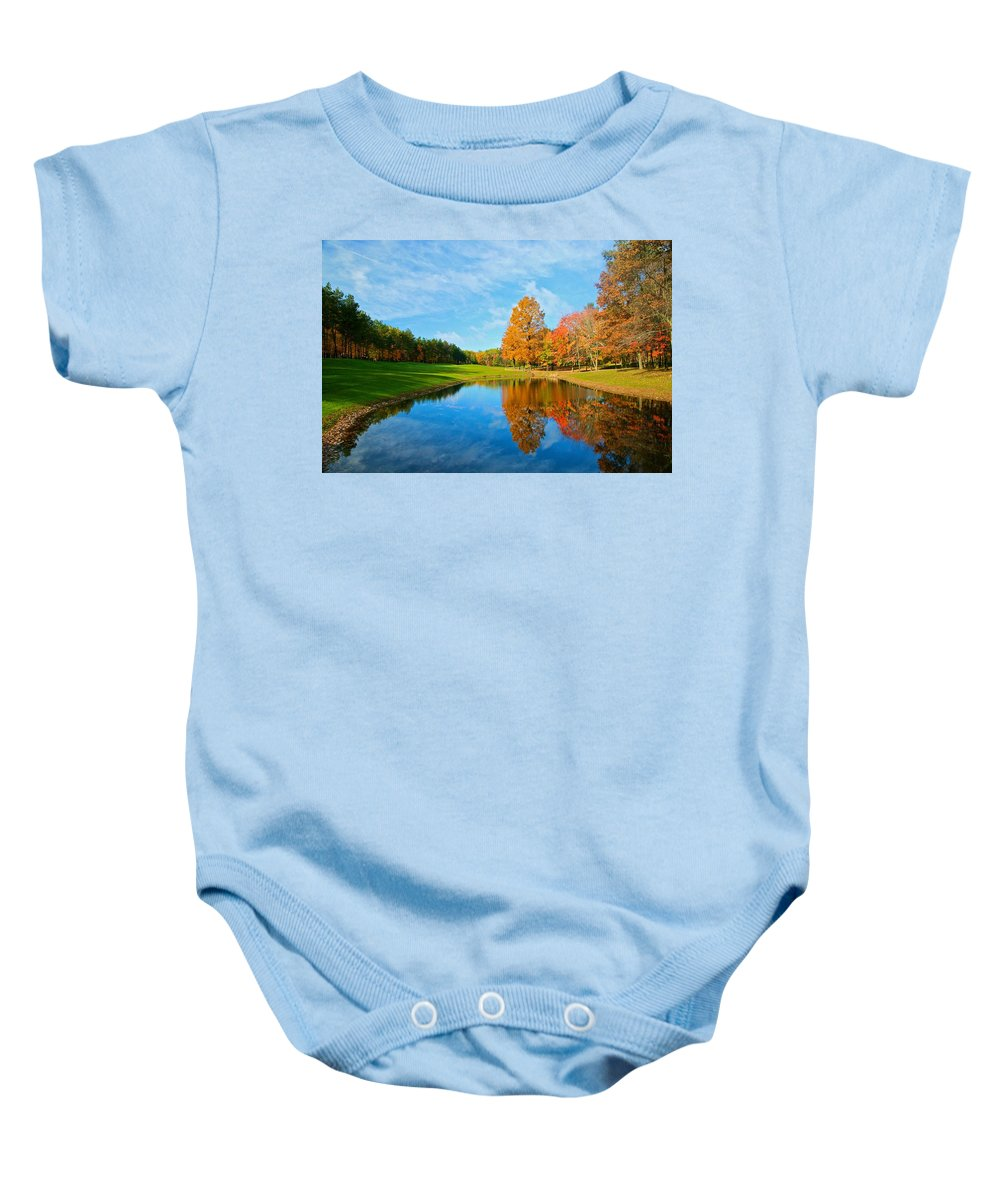 Flower Big Baby Onesie featuring the photograph Its A Fall Thing by Robert Pearson