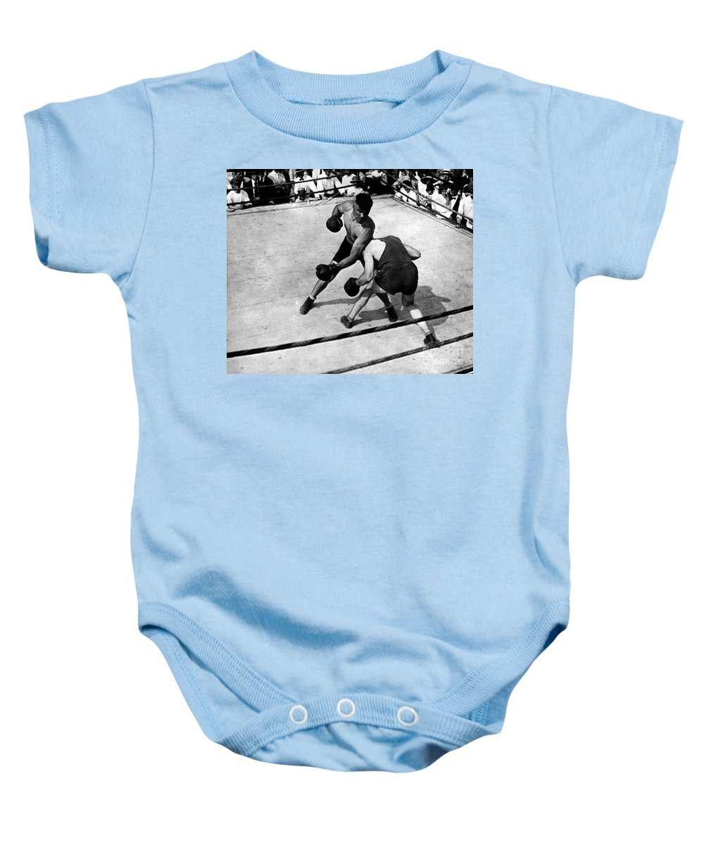 1919 Baby Onesie featuring the photograph Jack Dempsey by Granger