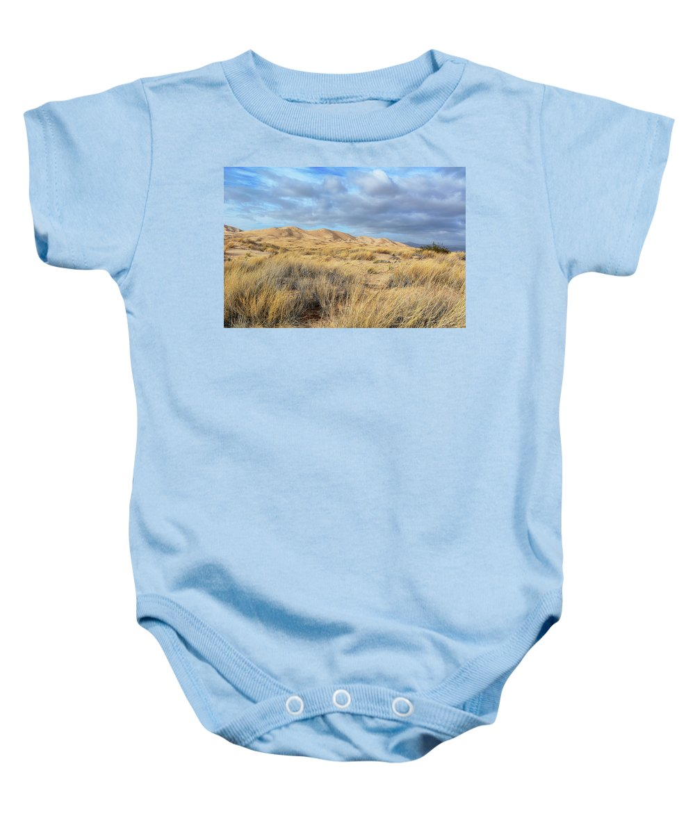 Mojave Desert Baby Onesie featuring the photograph Kelso Dunes Wilderness by Kyle Hanson