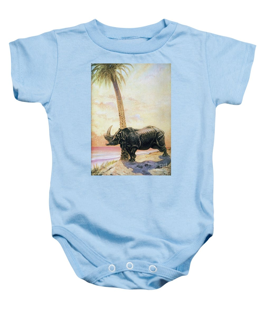 20th Century Baby Onesie featuring the photograph Kipling: Just So Stories by Granger