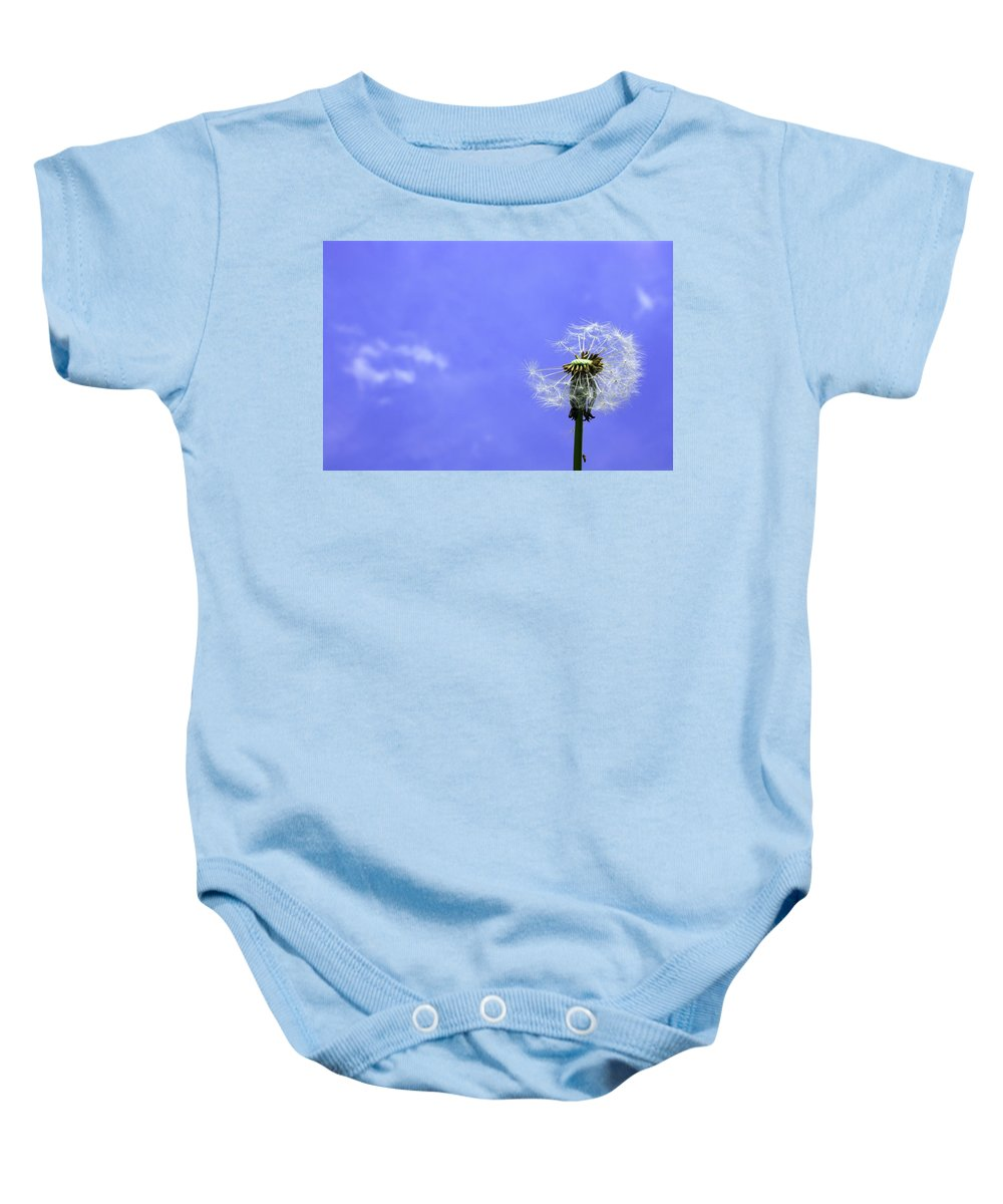Baby Onesie featuring the photograph L by Steve K