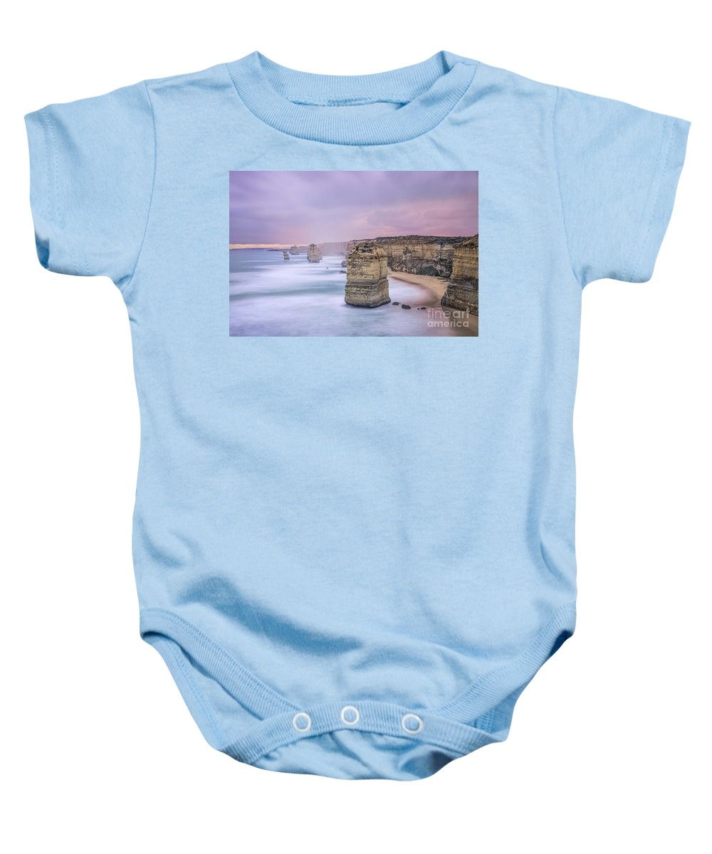 Kremsdorf Baby Onesie featuring the photograph Left In A Dream by Evelina Kremsdorf