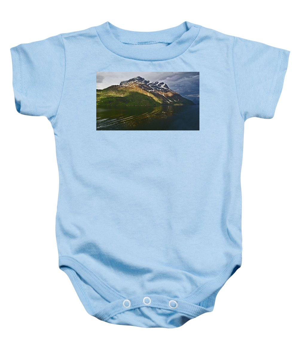 Landscape Baby Onesie featuring the photograph Light On The Water by Ian Miller