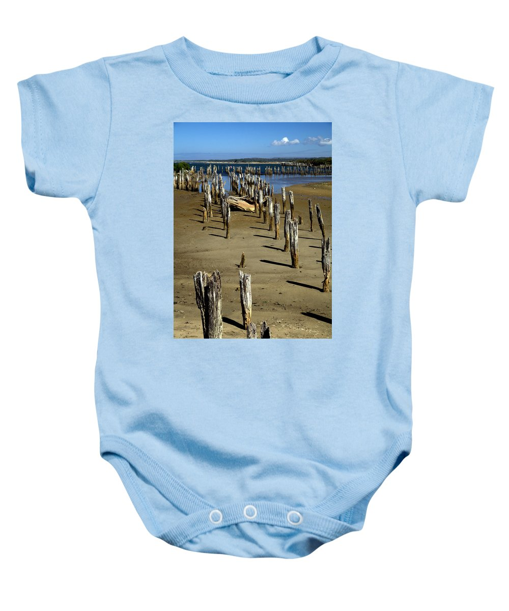 Bandon Baby Onesie featuring the photograph Low Tide #2 by Spirit Vision Photography