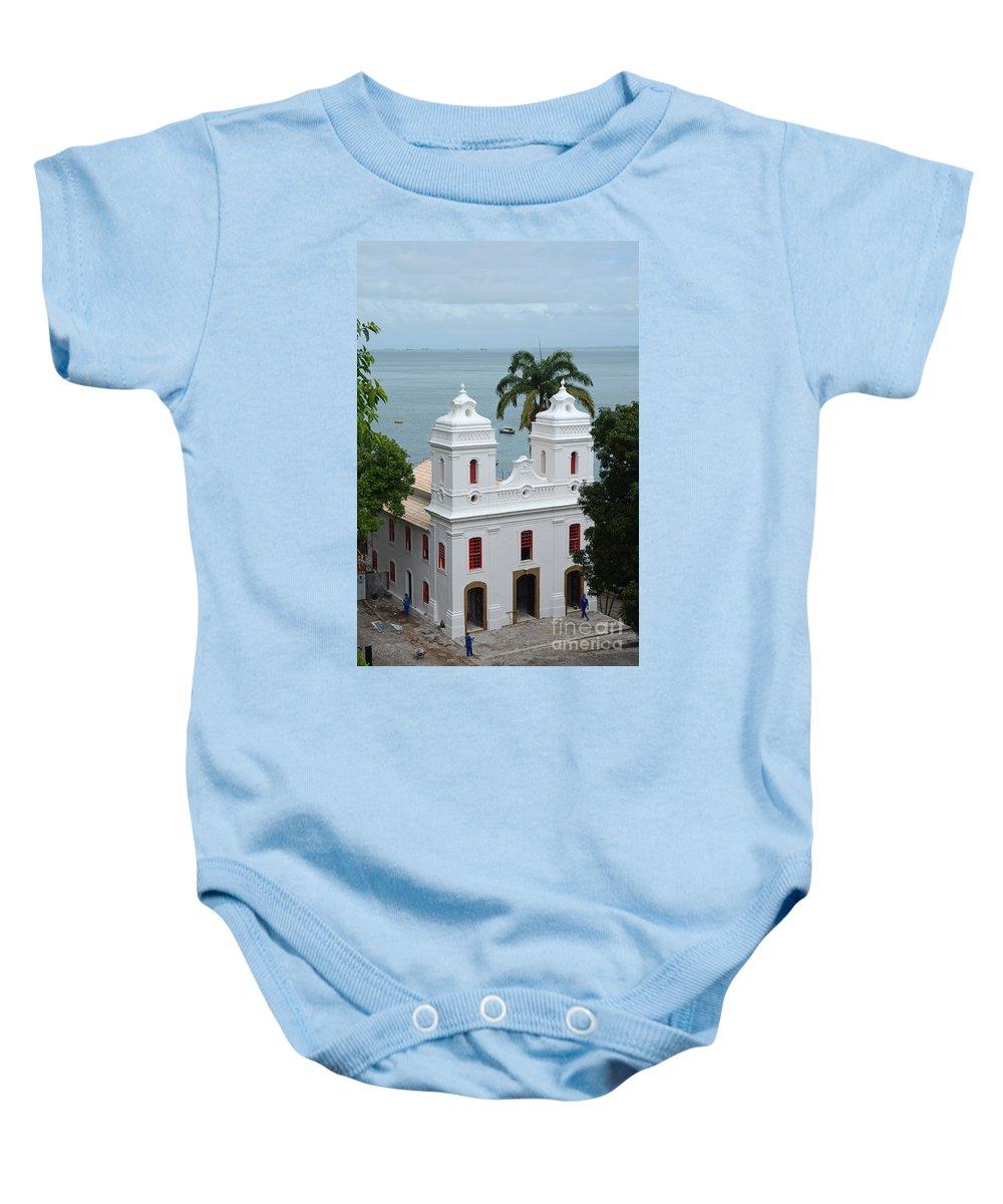 Mam Baby Onesie featuring the photograph Mam In Salvador Da Bahia Brazil by Ralf Broskvar
