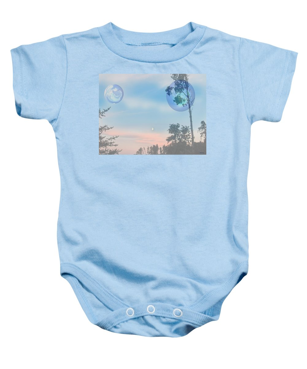 Moon Baby Onesie featuring the photograph Many Moons by Andrea Lawrence