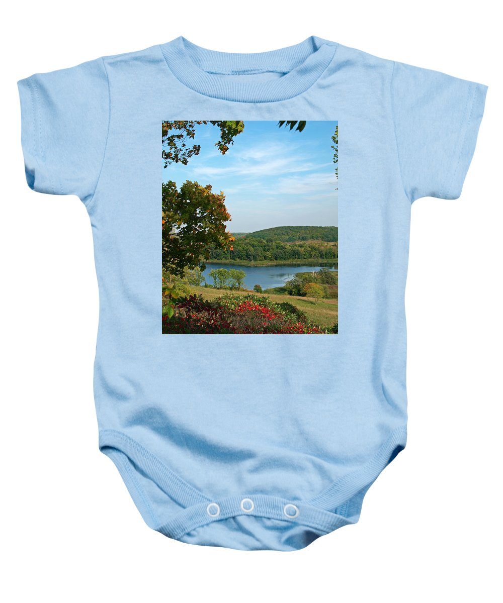 Peterson Nature Photography Baby Onesie featuring the photograph Maplewood State Park by James Peterson