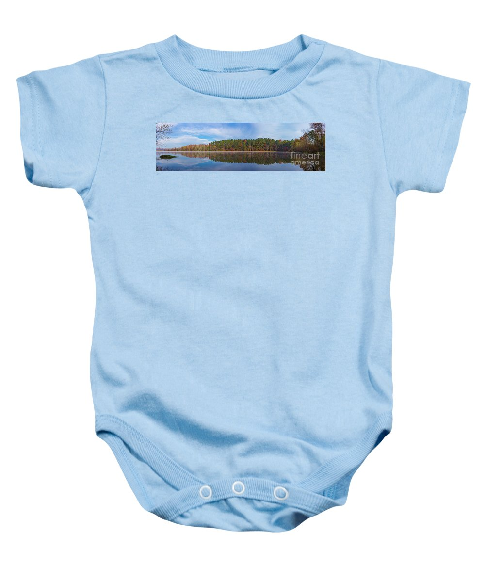 2017 Baby Onesie featuring the photograph Mayor's Pond, Autumn, #3 by Gregory Schultz