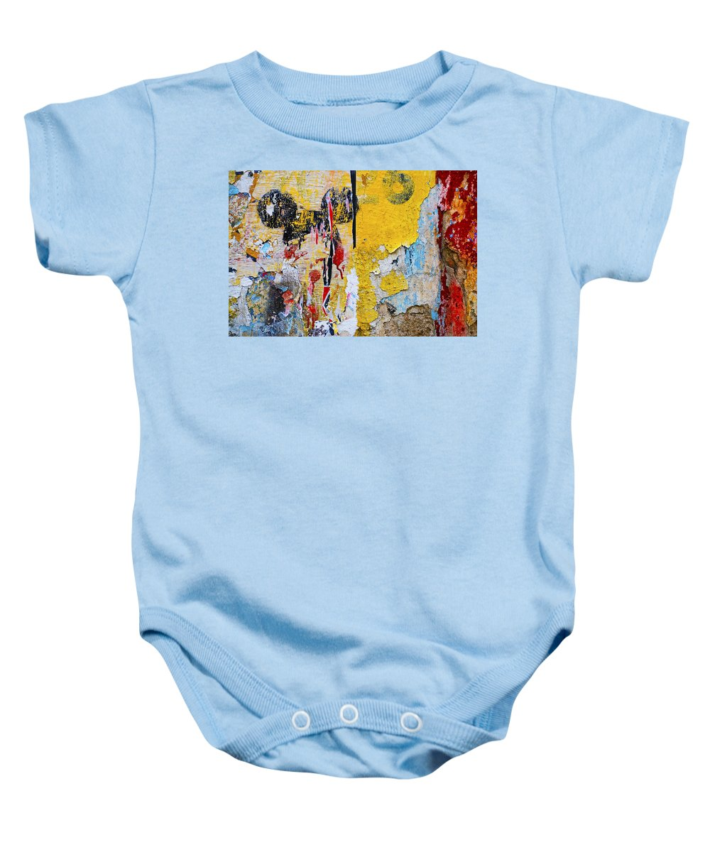 Mickey Mouse Baby Onesie featuring the photograph Mickeys Nightmare by Skip Hunt