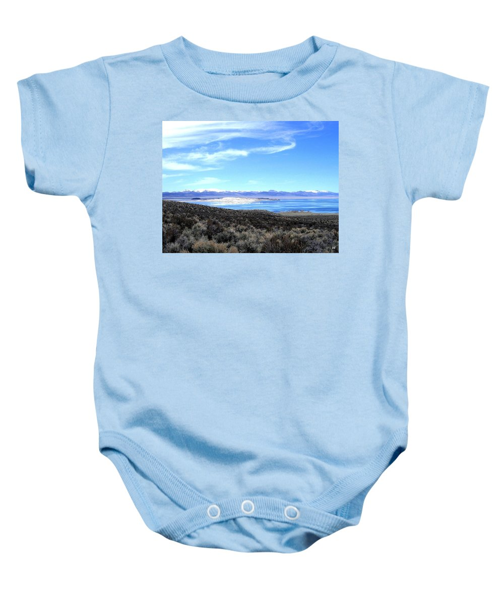 Mono Lake Baby Onesie featuring the photograph Mono Lake by Will Borden