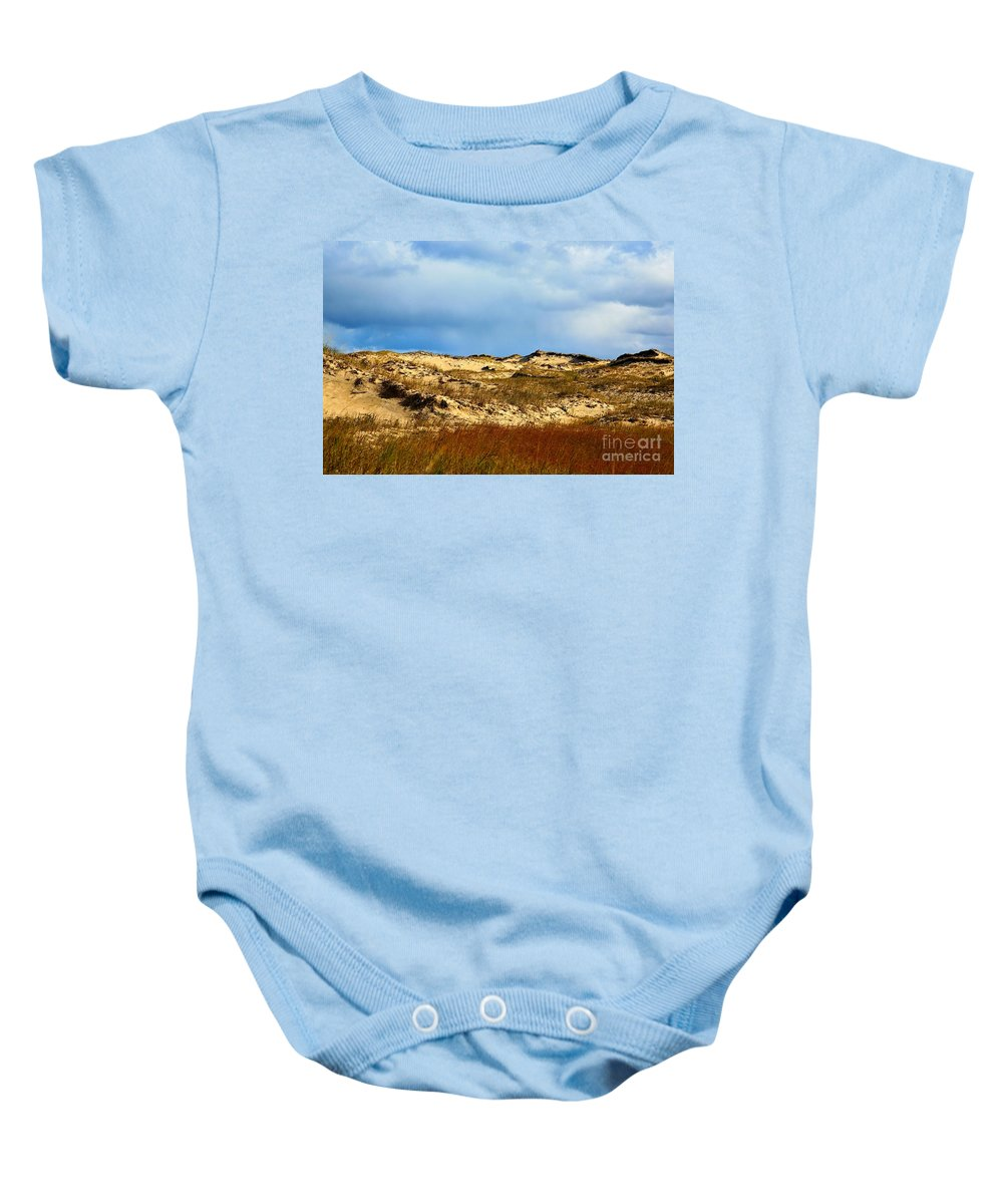 Sun Shine Nature Baby Onesie featuring the photograph Moon Walk by Robert Pearson