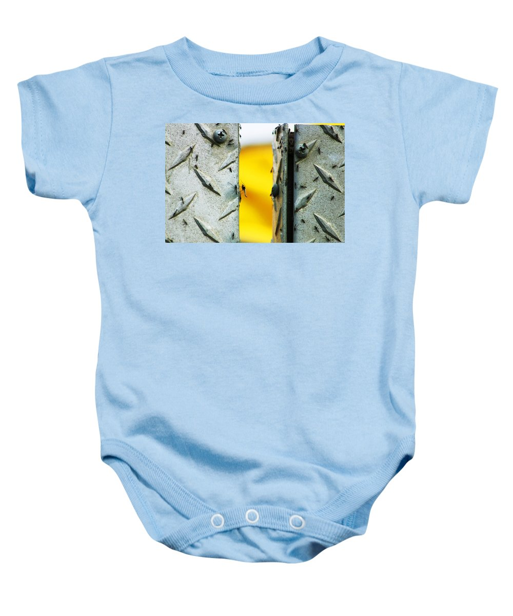 Mosquiros Baby Onesie featuring the photograph Mosquitos by Anthony Jones