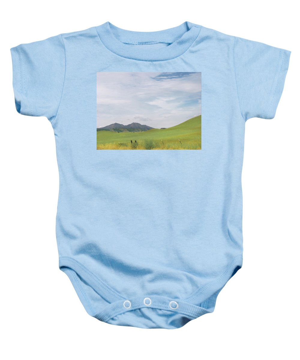 Landscape Baby Onesie featuring the photograph Mt. Diablo Mcr 1 by Karen W Meyer