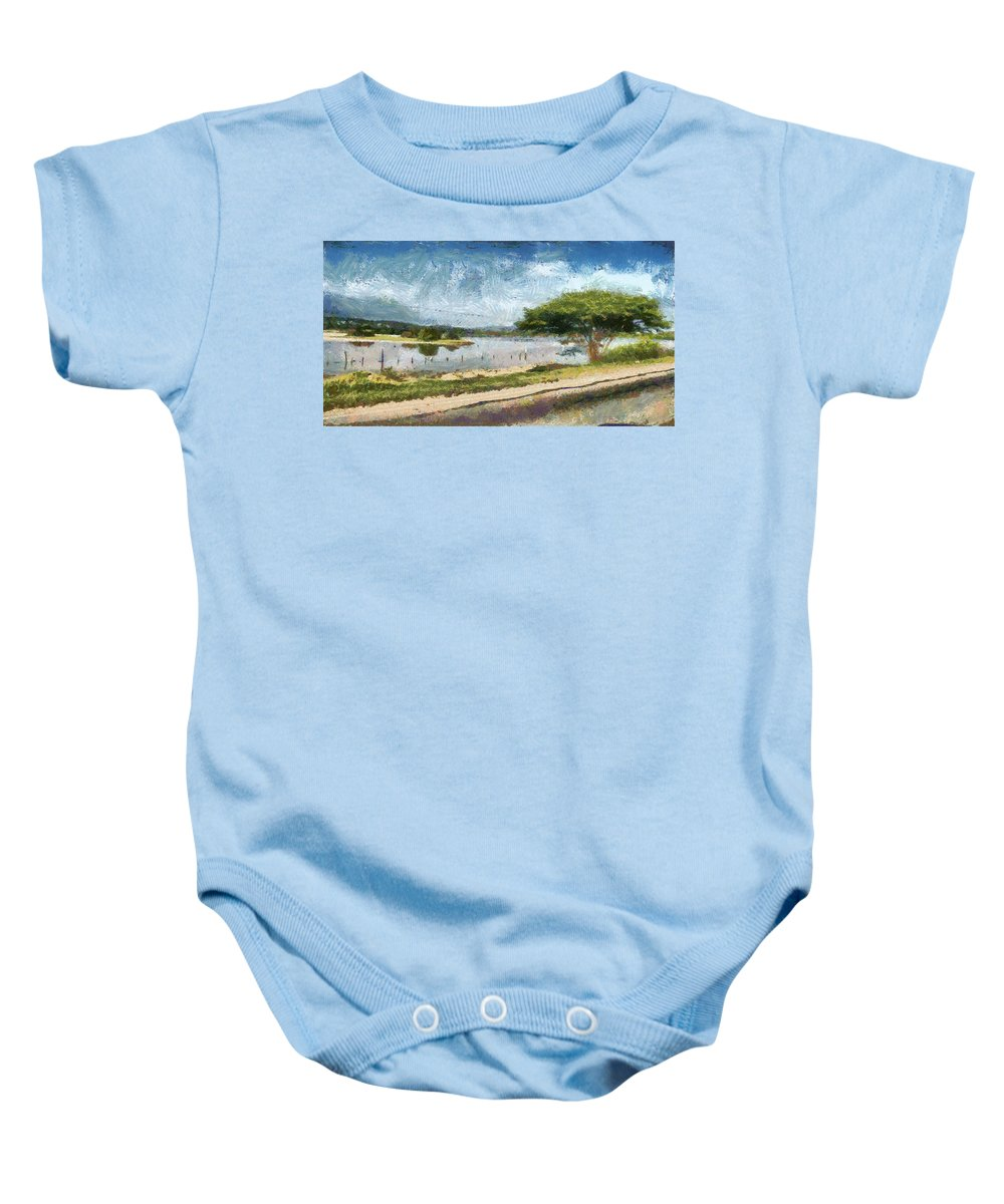 Natural Baby Onesie featuring the photograph Natural Reserve Of Cuare by Galeria Trompiz