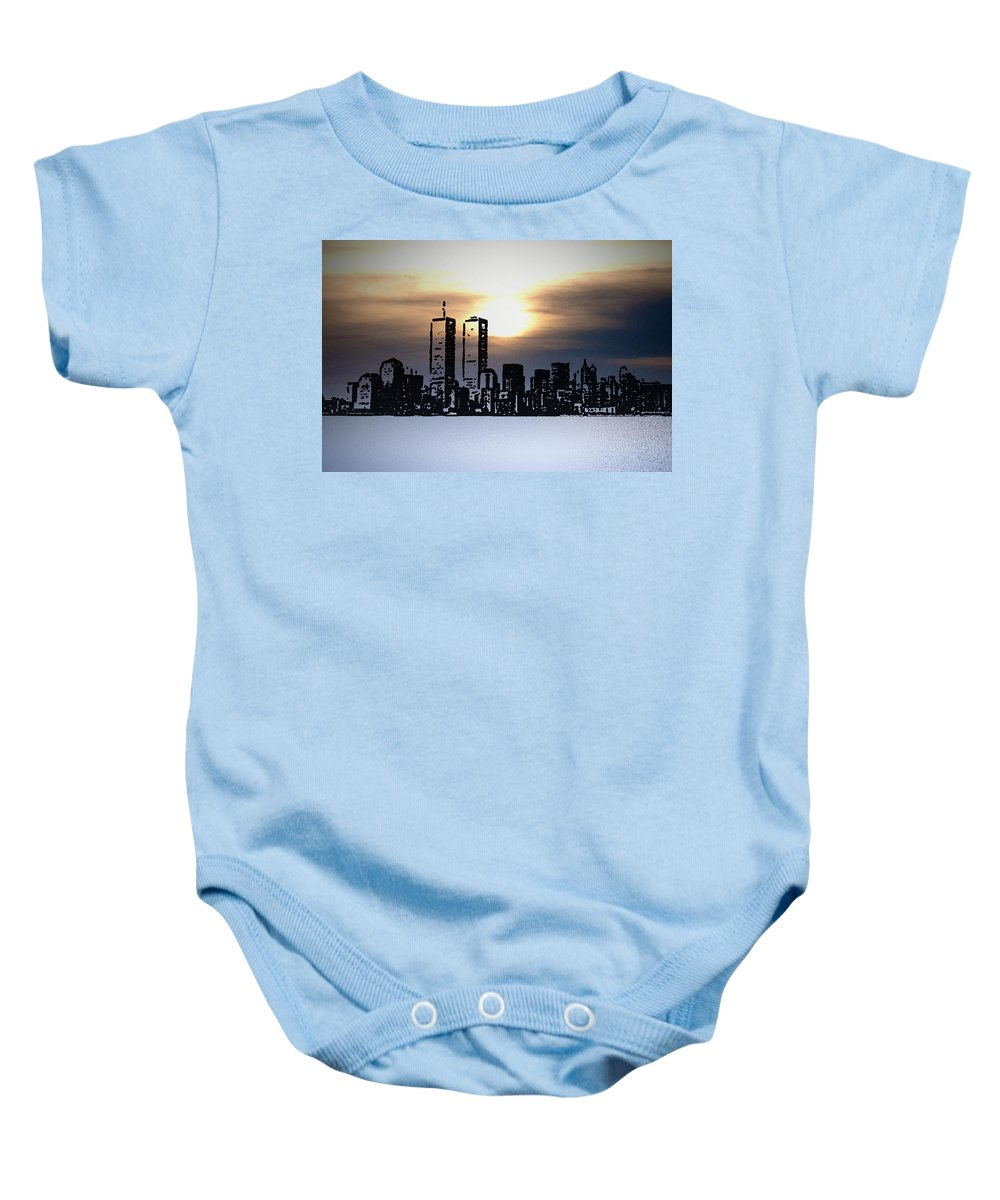 New York Baby Onesie featuring the photograph New York City - The Way We Were by Bill Cannon