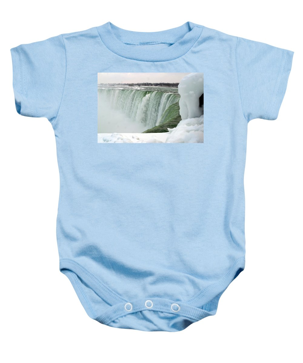 Niagara Falls Baby Onesie featuring the photograph Niagara Falls 2 by Anthony Jones