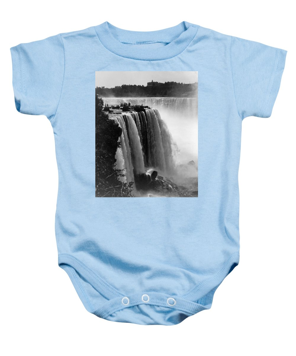 1911 Baby Onesie featuring the photograph Niagara Falls, C1911 by Granger