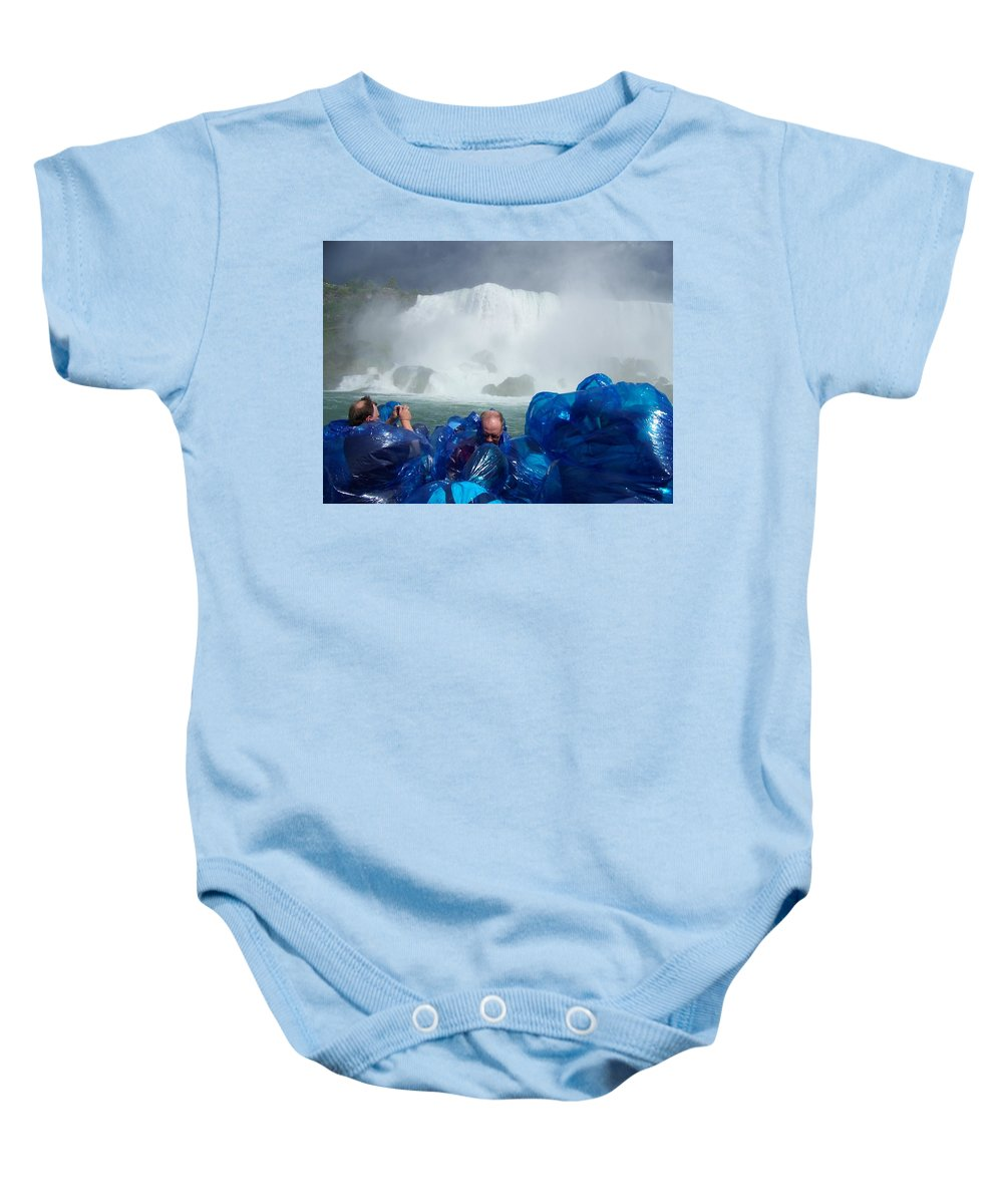 Baby Onesie featuring the photograph Niagra Falls Photographers by Laurie Paci