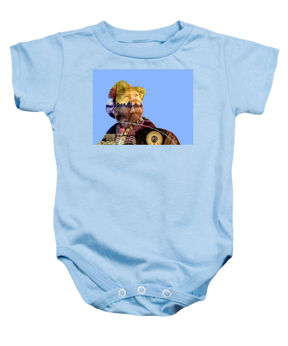 Numbers Baby Onesie featuring the photograph Numbers Guy by Dominic Piperata