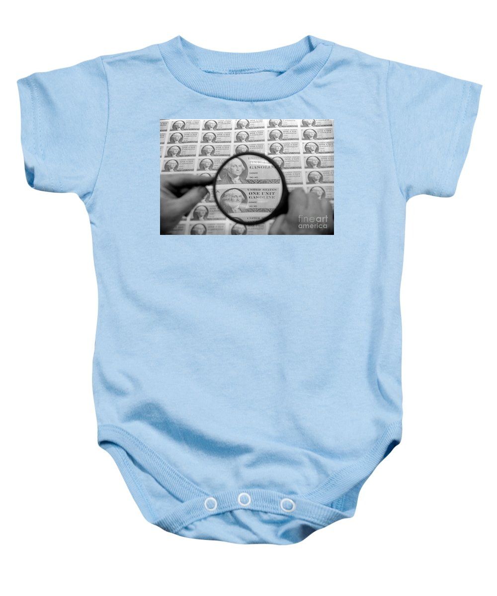 1974 Baby Onesie featuring the photograph Oil Crisis, 1974 by Granger