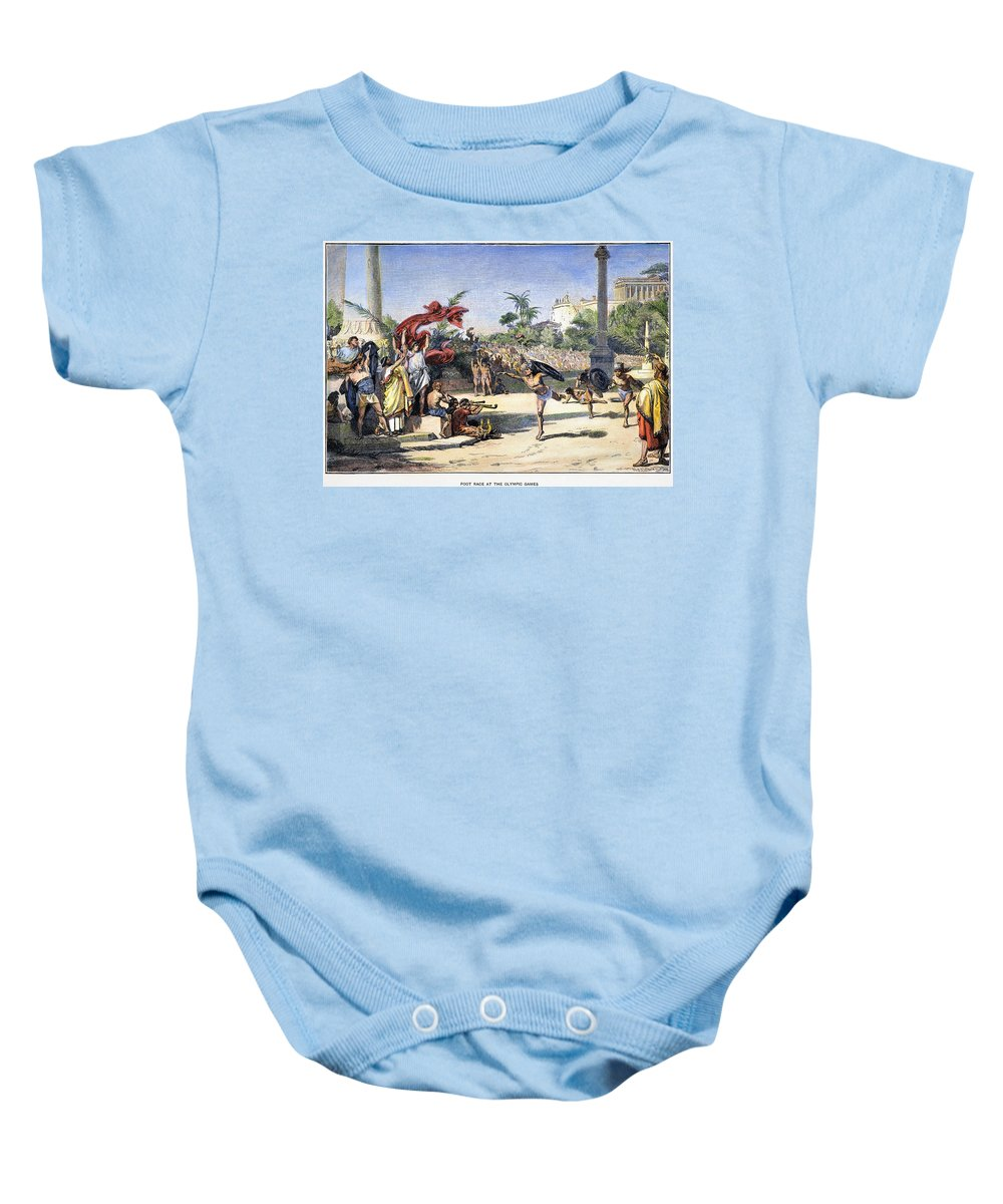 Ancient Baby Onesie featuring the photograph Olympic Games by Granger
