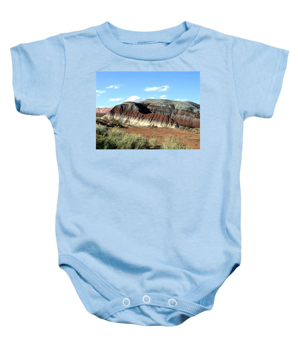 Arizona Baby Onesie featuring the photograph Painted Desert by Will Borden