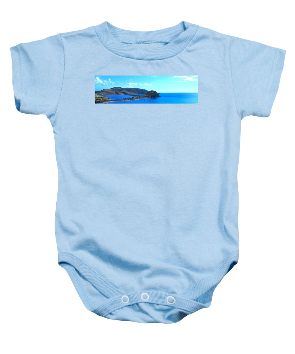 St Kitts Baby Onesie featuring the photograph Panhandle by Ian MacDonald